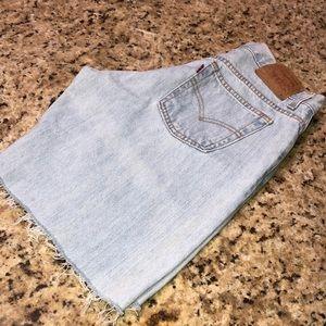 Vintage Levis 577 Shorts